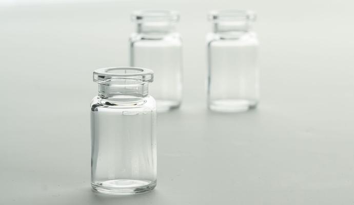 COP vials (Cyclo Olefin Polymer)
