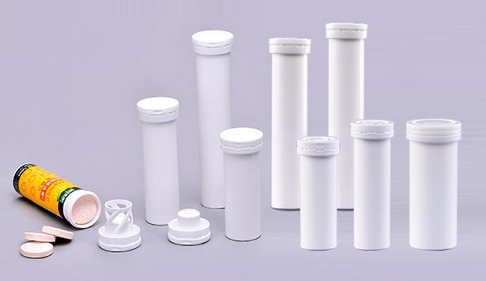 effervescent tablet tubes