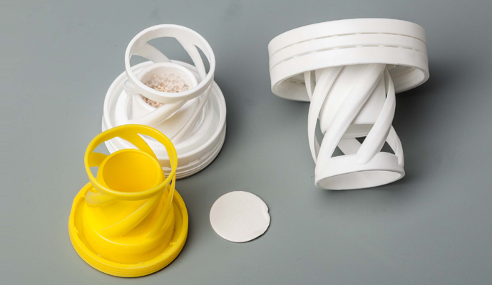 Desiccant and pharmaceutical coil for packaging