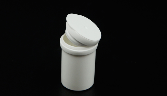 glucose test strip tube with desiccant