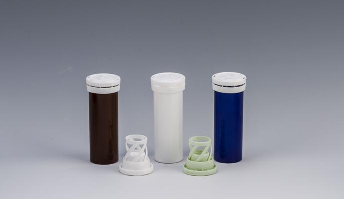 Bottle for test strips