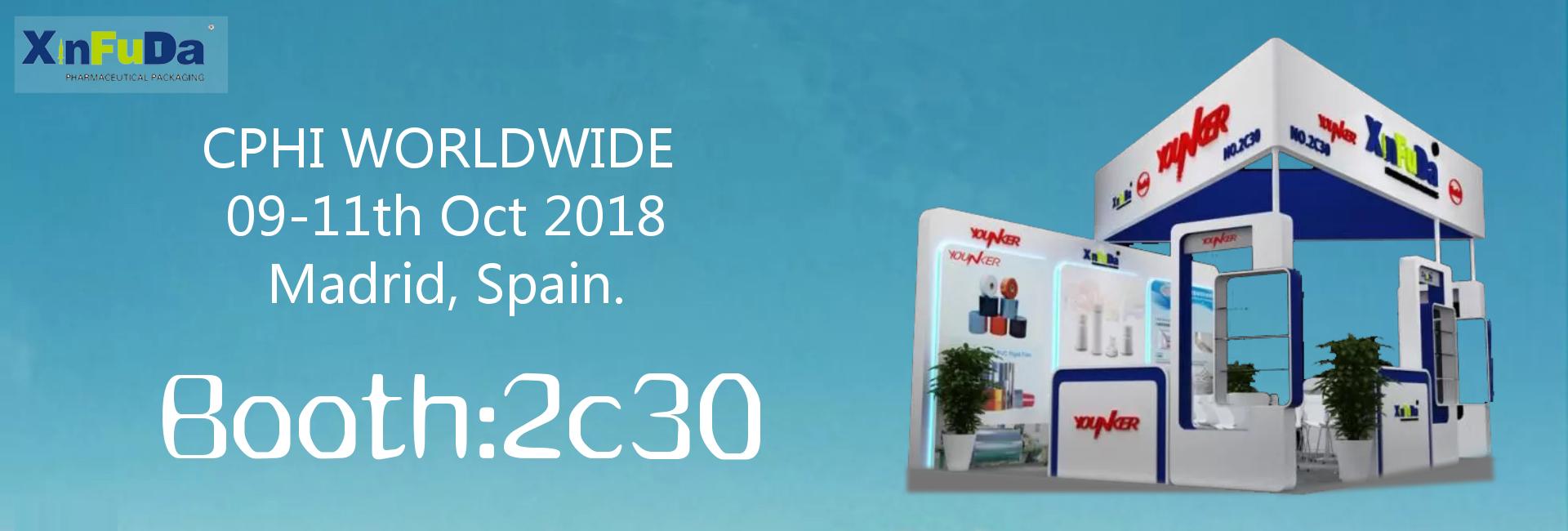 CPHI worldwide 2018 in Spain