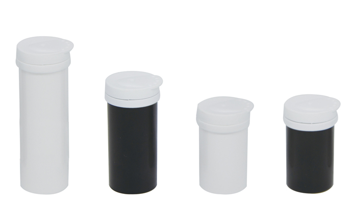 plastic tubes for candy with lids
