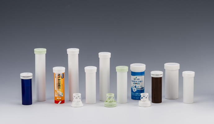 Functional packaging for effervescent tablets