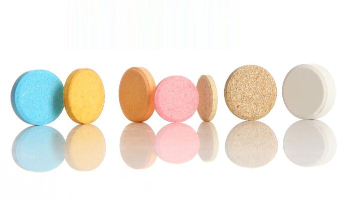 Effervescent dosage tablets packaging
