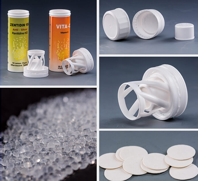 The feature of silica desiccant in pharma bottle