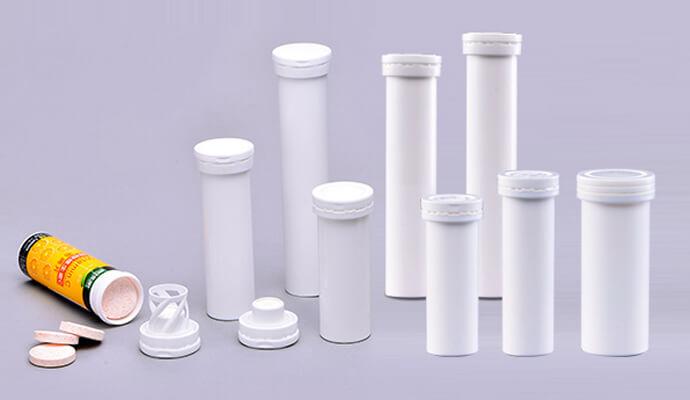Tubes for effervescent tablets