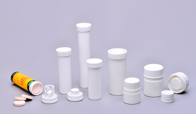 Desiccant packaging prevent moisture entering bottle
