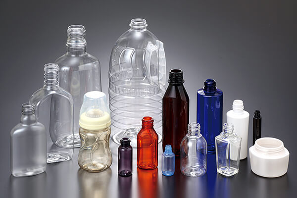 Drying and preheating of PET bottle materials
