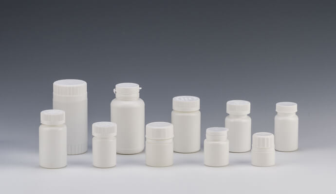 Feature of pharmaceutical plastic bottles