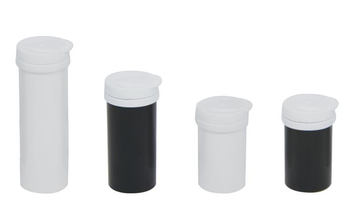 plastic desiccant tube for glocose blood test strips