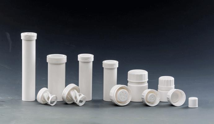 White cylindrical tube