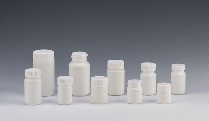 Pharmaceutical plastic bottle production process