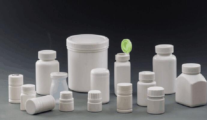 Several methods for infrared spectrometry of pharmaceutical plastic bottles