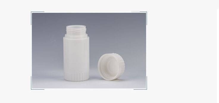 30ml Plastic Double Bottle Body with Desiccant Cap