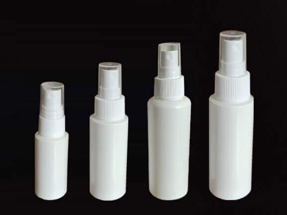 Plastic sanitizer spray bottle 30ml 60ml 100ml 120ml