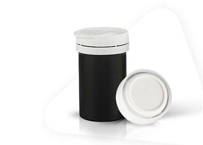 Bottle for PH test strips supplier 63mm