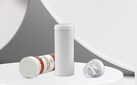 The design principle of the anti-theft ring on the lid of the effervescent tube