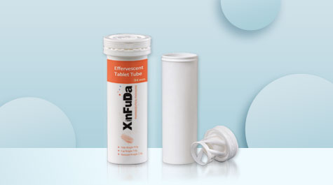The importance of drug moisture prevention depends on the special design of the effervescent tube