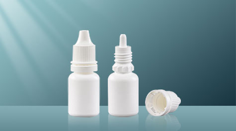 Precautions for the use of empty eye drop bottle