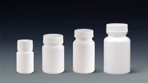 What are the characteristics of the plastic tablet bottle
