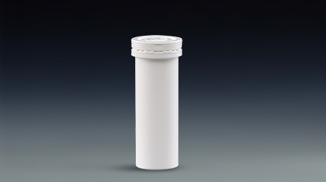 Introduction of two caps for effervescent tablet packaging