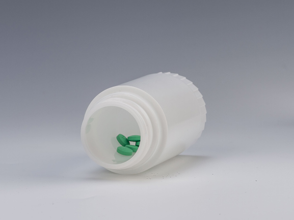 30ml Plastic Double Bottle Body with Desiccant Cap