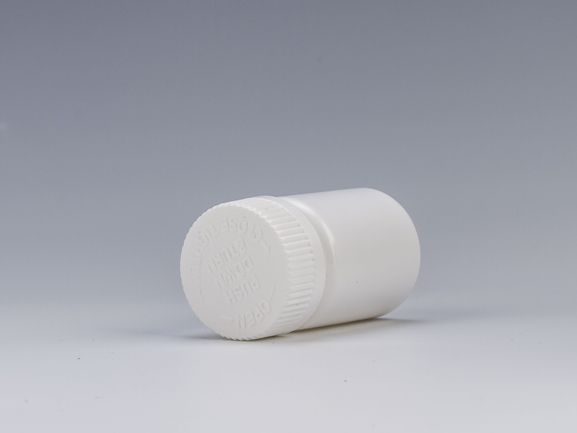 45ml Plastic Medicine Bottle with CRC Z009