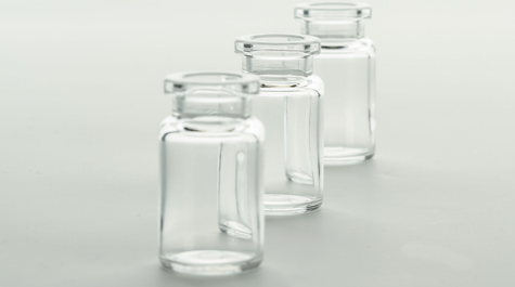 Low protein adsorption plastic bottle-COP vials