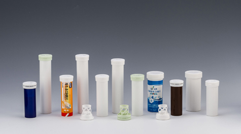 plastic tube for tablets(effervescent,milk,calcium) working principle