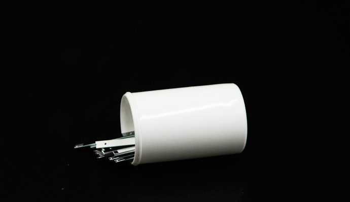 Urine test strip container tube with desiccant cap(effective for strips)