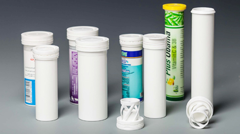 Effervescent tablet bottle specification and cap