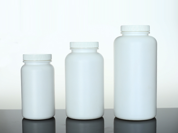 Plastic powder bottle for protein