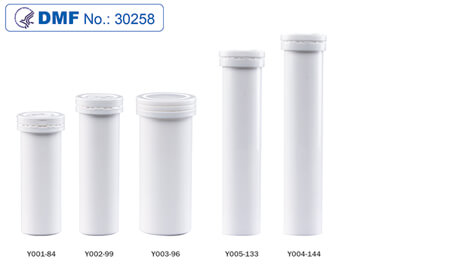 Supplements tablet tube