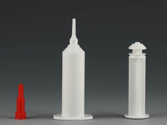 8ml udder plastic syringe