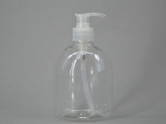500ml clear hand sanitizer bottles in stock