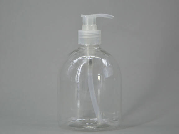 500ml clear hand sanitizer bottles in stock