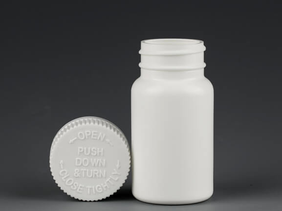 60ml HDPE pill bottle Z010
